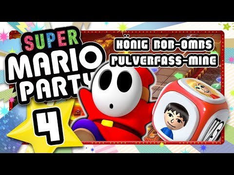 SUPER MARIO PARTY 🎲 #4: Explosive Party in König Bob-Ombs Pulverfass-Mine