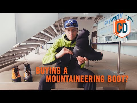 3 Things To Consider When Buying A Mountaineering Boot   Climbing Daily Ep.1180