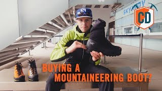 3 Things To Consider When Buying A Mountaineering Boot | Climbing Daily Ep.1180 by EpicTV Climbing Daily