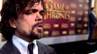 Subscribe to the Game of Thrones YouTube: http://itsh.bo/10qIOan The Buzz was in San Francisco, California on March 23 for the...