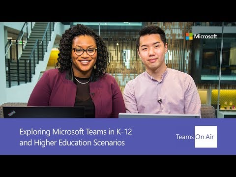Explore how Microsoft Teams can be used in the educational space