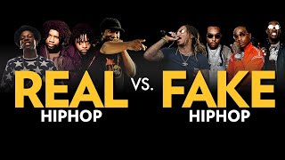 Video Real Hip Hop Vs. Fake Hip Hop MP3, 3GP, MP4, WEBM, AVI, FLV Juni 2018