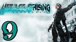 Metal Gear Rising Walkthrough - PT. 9 - File 04 - Hostile Takeover Part 1