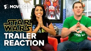 Trailer Reaction: Star Wars: Episode VII - The Force Awakens (2015) - Movie3Some HD