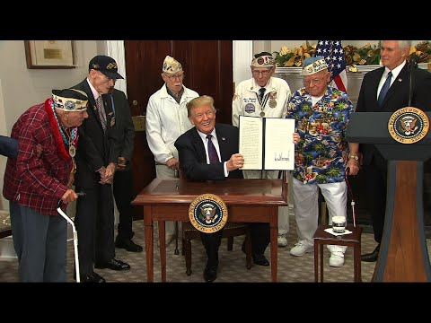 Trump Proclaims Pearl Harbor Remembrance Day