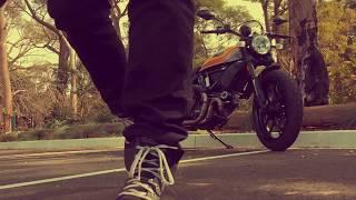 6. Ducati Scrambler MACH 2.0 and Forma Slam Flow Boots