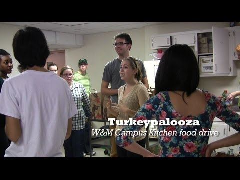 Turkeypalooza: W&M food drive for the community