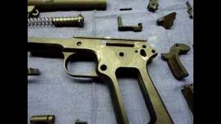 SHAWN U.S. & S. CLONE 1911A1 PISTOL BUILD VULCAN GUN REFINISHING