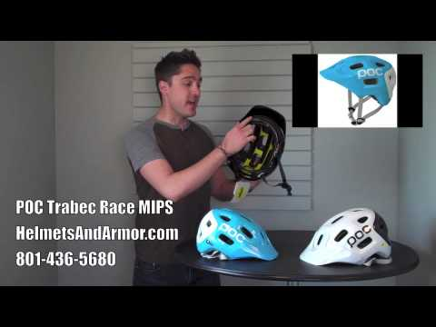 POC Trabec Race MIPS Mountain Bike Helmet