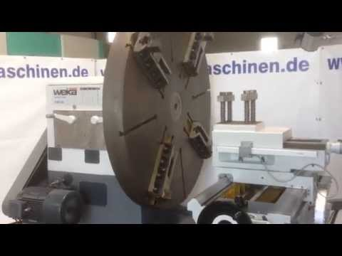 Facing Lathe WEIKA FL 2200 2014