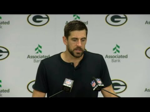 Aaron Rodgers interview - Packers ride Rodgers' hot start to 21-16 win over Vikings