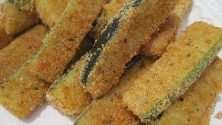 Baking ZUCCHINI   Oven Fried ZUCCHINI - How to bake ZUCCHINI Recipe