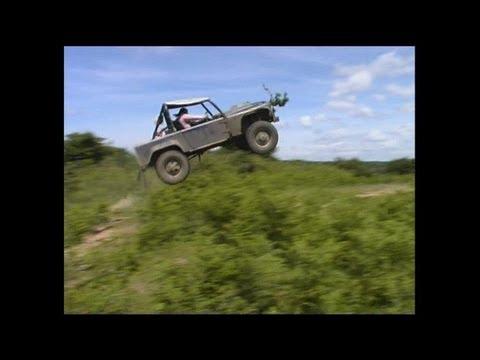 extreme 4x4 land rover defender v8 - salti assurdi!