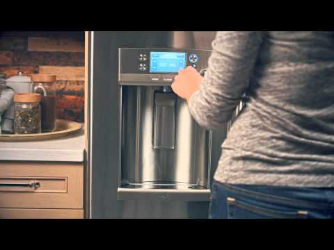 PRECISE FILL ON GE CAFÉ SERIES FRENCH DOOR REFRIGERATORS