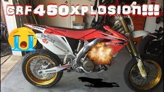 9. CRF450X CATASTROPHIC ENGINE FAILURE