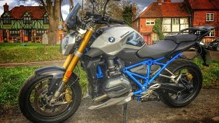 4. 2017 BMW R1200R Review