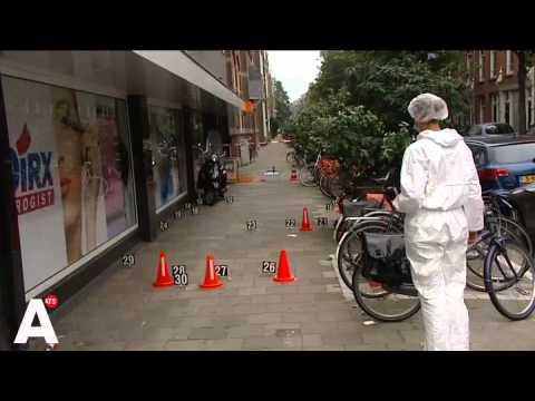 Man met schotwond in been na schietincident Amsterdam