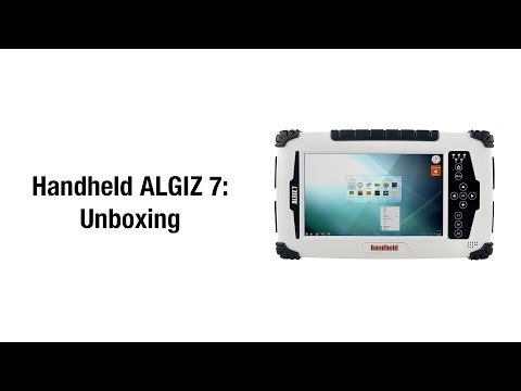 Unboxing the ALGIZ 7 ultra-rugged tablet