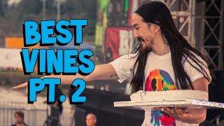 Steve Aoki's Best Vines Part 2 (ft. Zedd, Diplo, R3HAB, and more!)