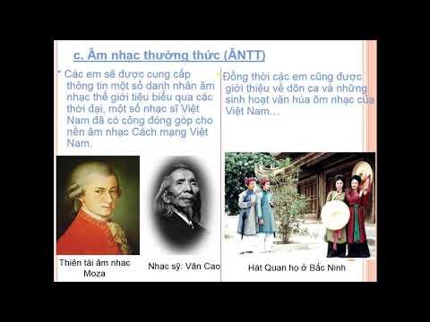 Âm nhạc 6 - Giới thiệu bộ môn Âm nhạc trung học cơ sở