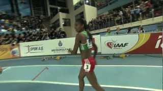 Istanbul 2012 Competition: 1500m Women Final - Genzebe Dibaba ETH