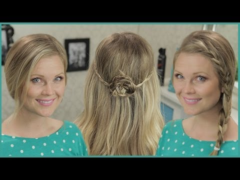 DIY: Three Everyday Spring Hairstyles!!