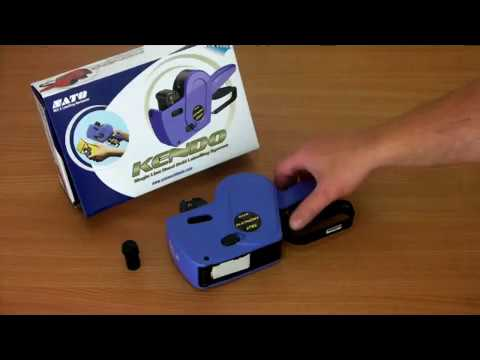 How To Change A Sato Kendo Price Gun Ink Roller