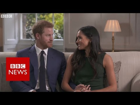 Prince Harry, aged 33, and Ms Markle, aged 36, are to marry in the spring He said the \