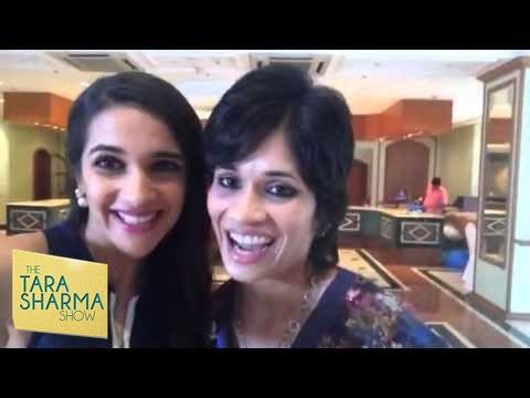 Fun Selfie – Tara Sharma with Sayuri