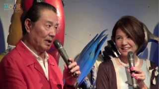 森次晃嗣、ひし美ゆり子/「生誕45周年 ウルトラセブン展」トークショー