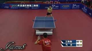 Table Tennis Highlights, Video - 2013 China Trials for WTTC: MA Long - WANG Liqin [HD] [Full Match/Short Form]