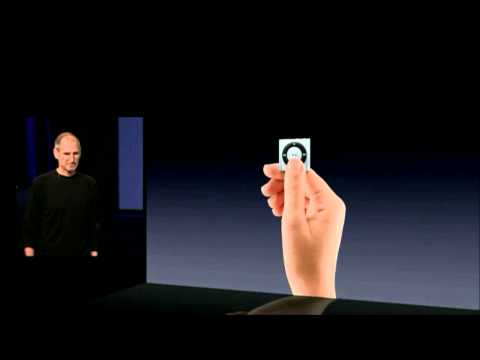 Apple Music Event 2010   iPod Shuffle 4th Generation Introdu