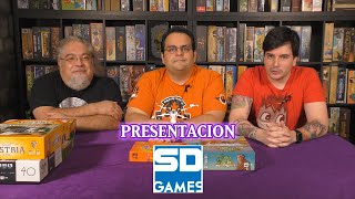 AP presenta SD GAMES by Gen X Studio