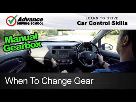 When To Change Gear  |  Learning to drive: Car control skills