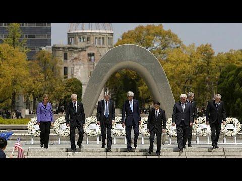 Ιαπωνία: Ιστορική επίσκεψη του Τζον Κέρι στο Μνημείο Ειρήνης της Χιροσίμα
