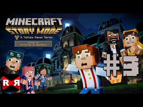 Minecraft: Story Mode Ep. 6: A Portal to Mystery - iOS / Android - Walkthrough Gameplay Part 3