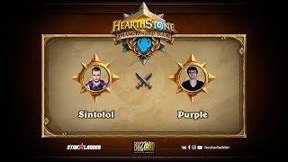 Sintolol vs Purple, game 1