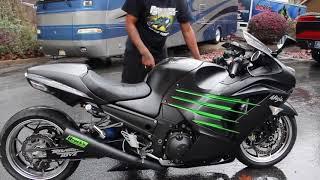 3. New Bike Reveal!! 2015 Kawasaki Ninja ZX14R!!