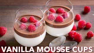 Dessert: Vanilla Mousse Cups (Ptichye Moloko)- Natasha's Kitchen Video