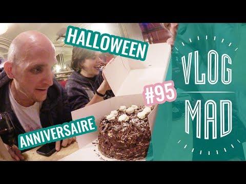 VLOGMAD 95 — Halloween & anniv de Fab ! 🎂