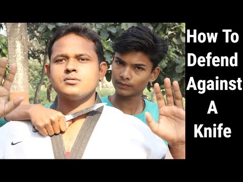 How To Defend Against A Knife | Self Defense Techniques