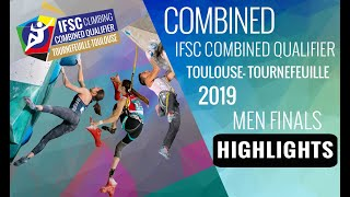 IFSC Combined Qualifier Toulouse 2019 - Men Finals - Highlights by International Federation of Sport Climbing