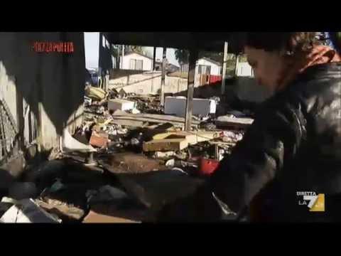 reportage shock: guardate cosa trovano nei campi rom!