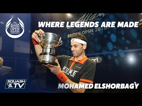 British Open Squash: Where Legends Are Made - Mohamed ElShorbagy