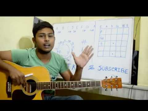 Beginner Acoustic Guitar Lesson-Chord Cycle and Fretboard Notes(Bengali)-Tutorial 2