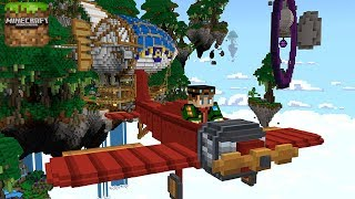 Minecraft Relics of the Skies - Gameplay Walkthough Part 1 - Battle Mystical Creatures and Pirates