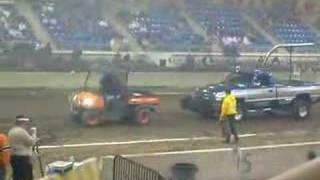 10. Kubota Pulling a Dodge