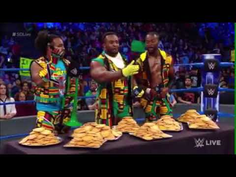 The New Day is celebrating PANCAKE TUESDAY the only way they know how on WWE SmackDown Live!