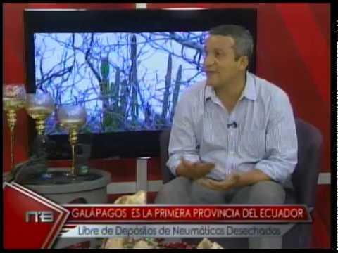 Galápagos es la primera provincia del Ecuador libre de depósitos de neumáticos desechados
