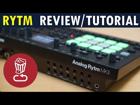 Analog RYTM MK2 // Full review, tutorial // Pros and cons for Elektron's top drum machine